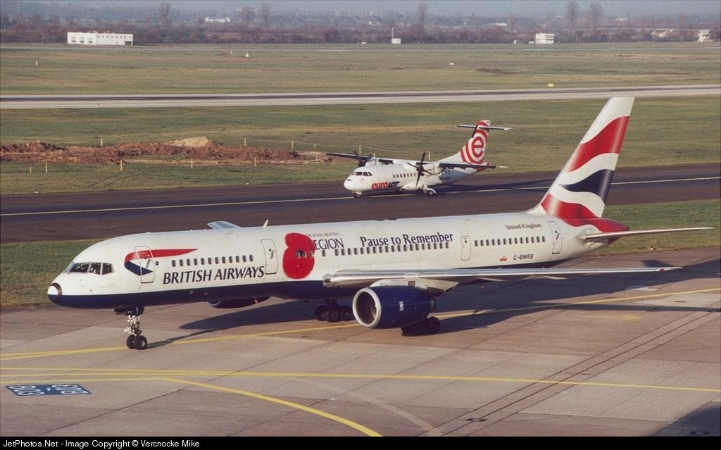 G-BMRB - Boeing 757-236 - British Airways