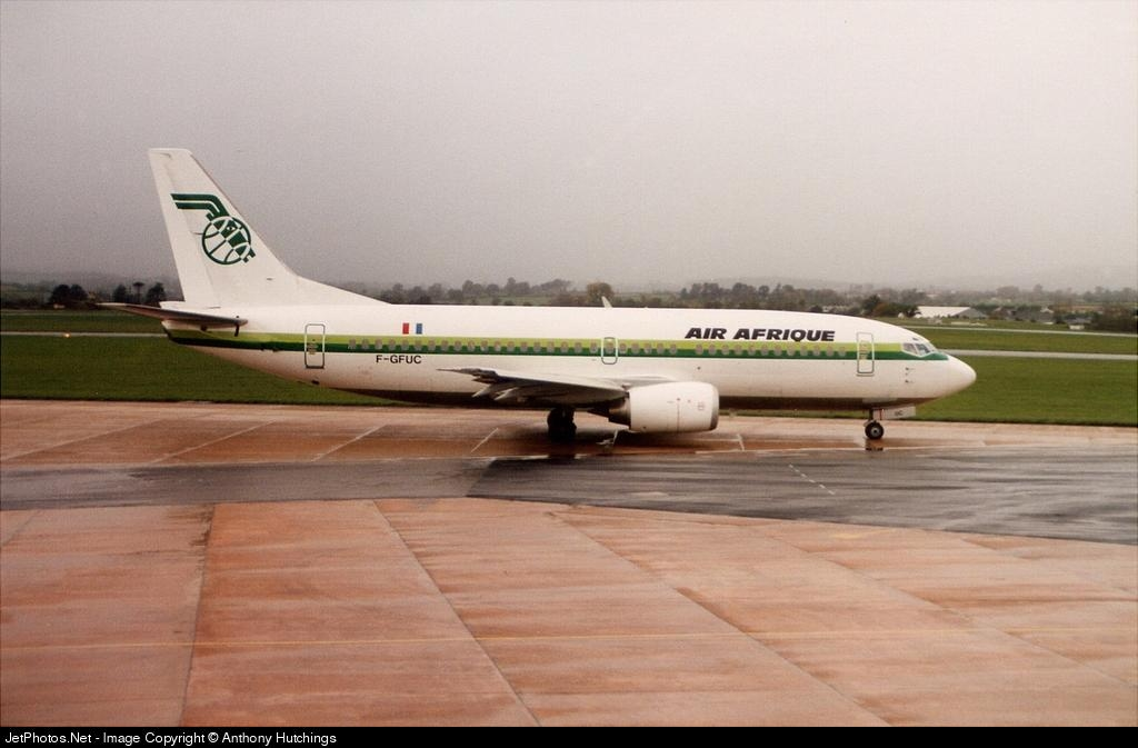 F-GFUC - Boeing 737-33A - Air Afrique