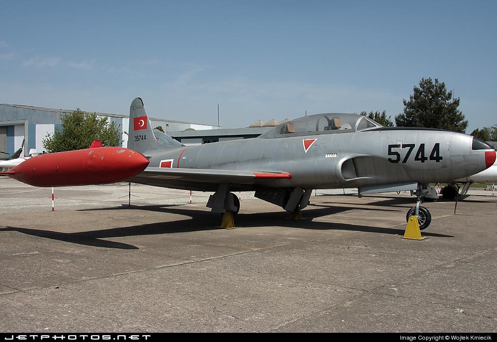 53-5744  - Lockheed T-33A Shooting Star - Turkey - Air Force