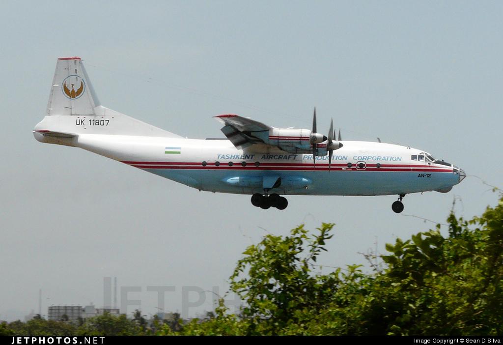UK-11807 - Antonov An-12BP - Tashkent Aircraft Production Corporation