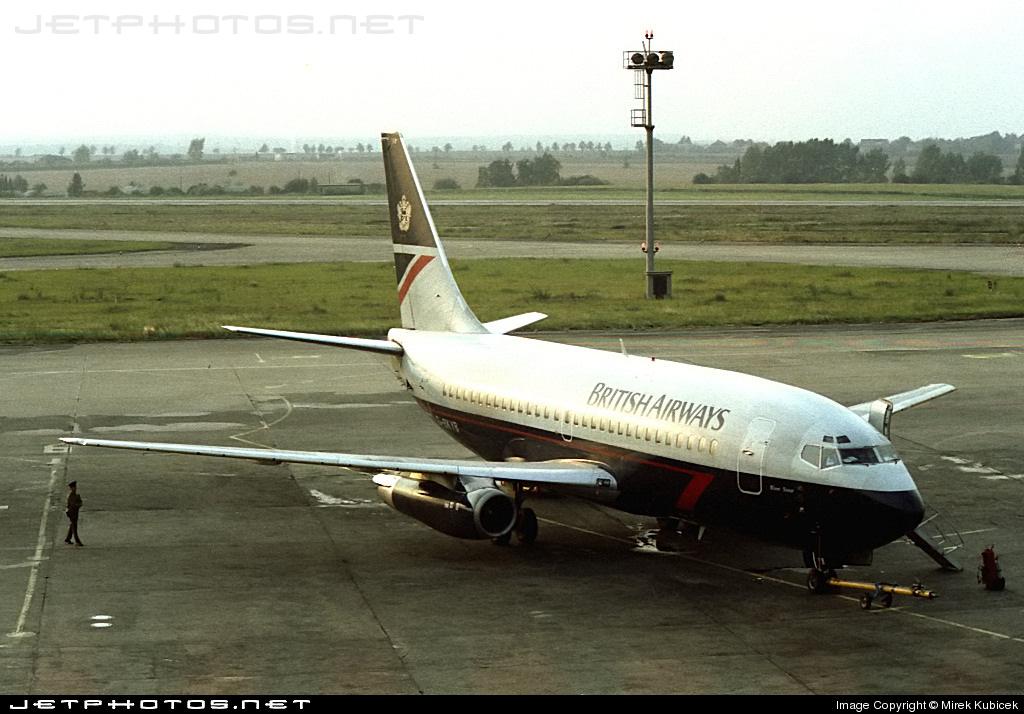 G-BKYB - Boeing 737-236(Adv) - British Airways
