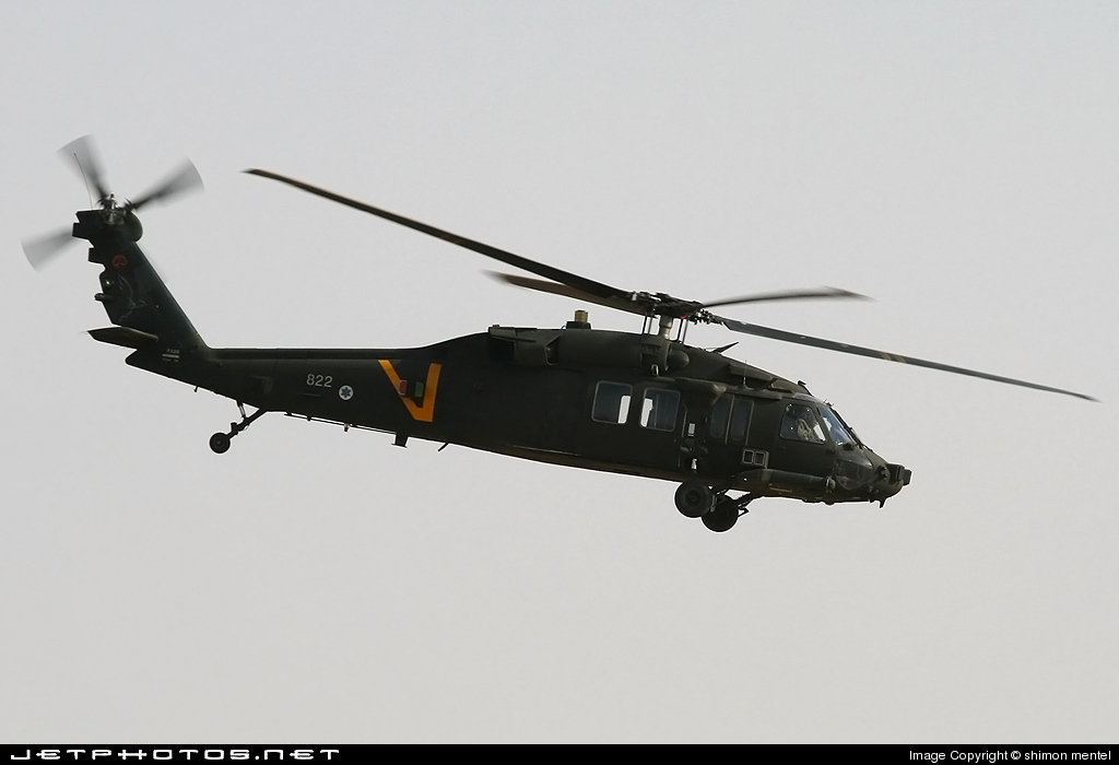 822 - Sikorsky UH-60A Blackhawk - Israel - Air Force