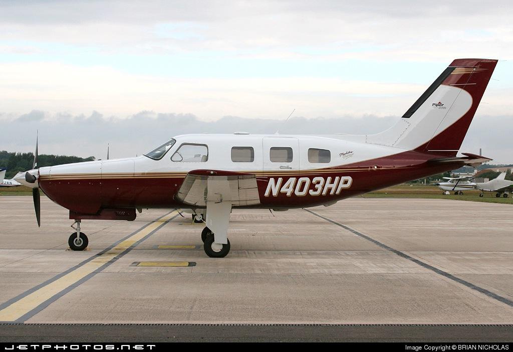 N403HP - Piper PA-46-350P Malibu Mirage - Private