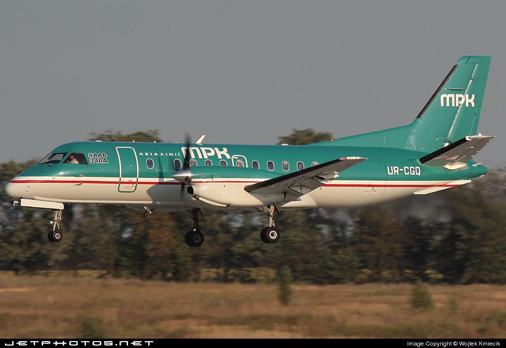UR-CGQ - Saab 340A - MRK Airlines