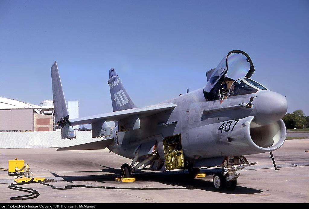 155407 - LTV A7E  Corsair II - United States - US Navy (USN)
