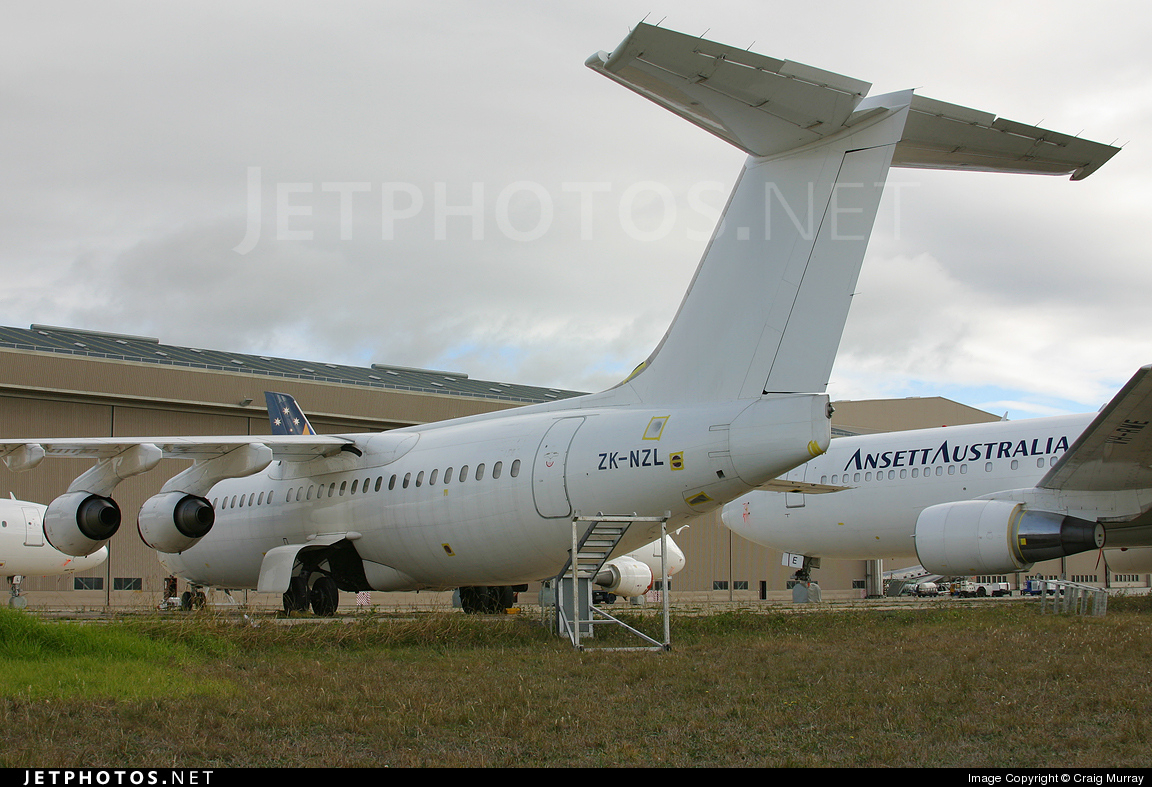 ZK-NZL - British Aerospace BAe 146-300 - Untitled