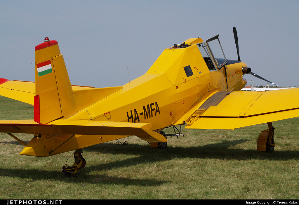 HA-MFA - Zlin Z-137T Agro Turbo - Air Patrol