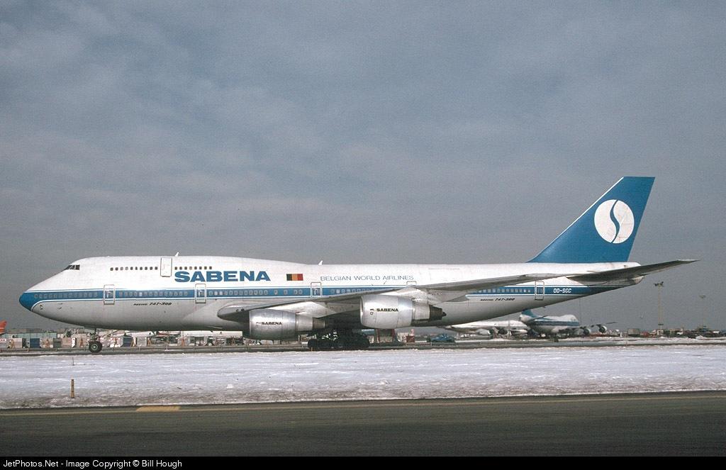 OO-SGC - Boeing 747-329(M) - Sabena