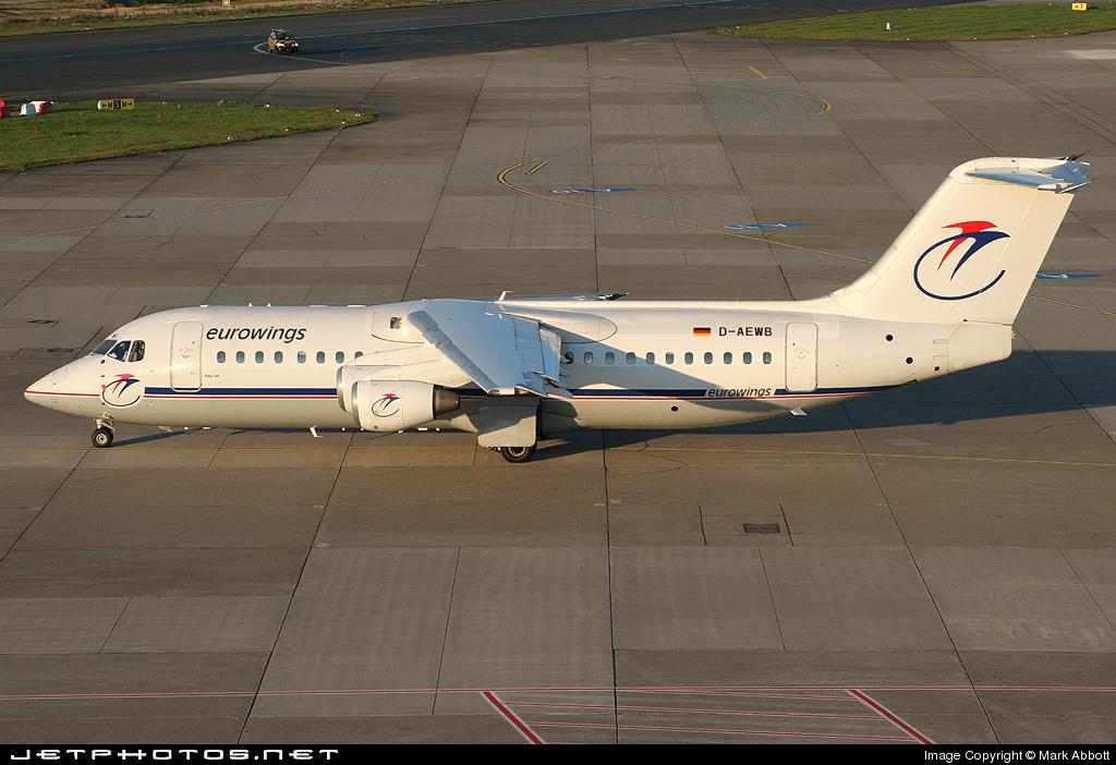 D-AEWB - British Aerospace BAe 146-300 - Eurowings