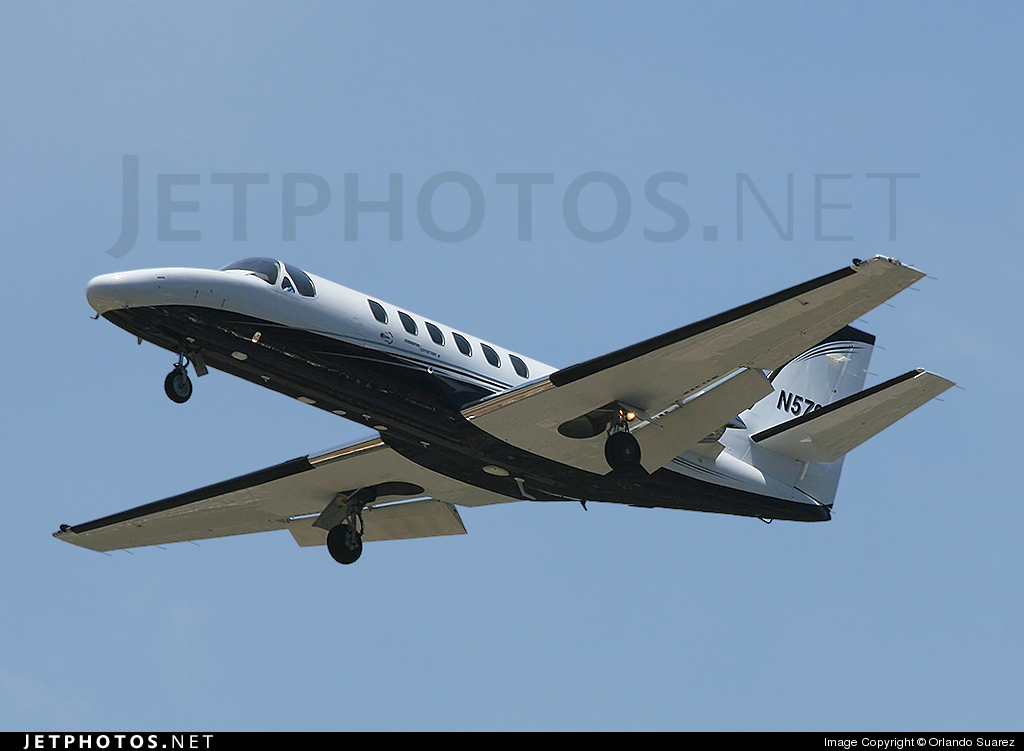 N578M - Cessna 550 Citation II - Private