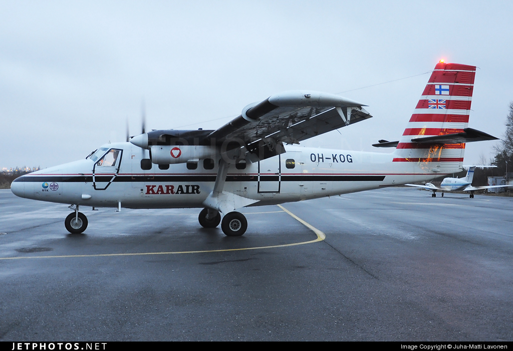 OH-KOG - De Havilland Canada DHC-6-300 Twin Otter - Kar-Air
