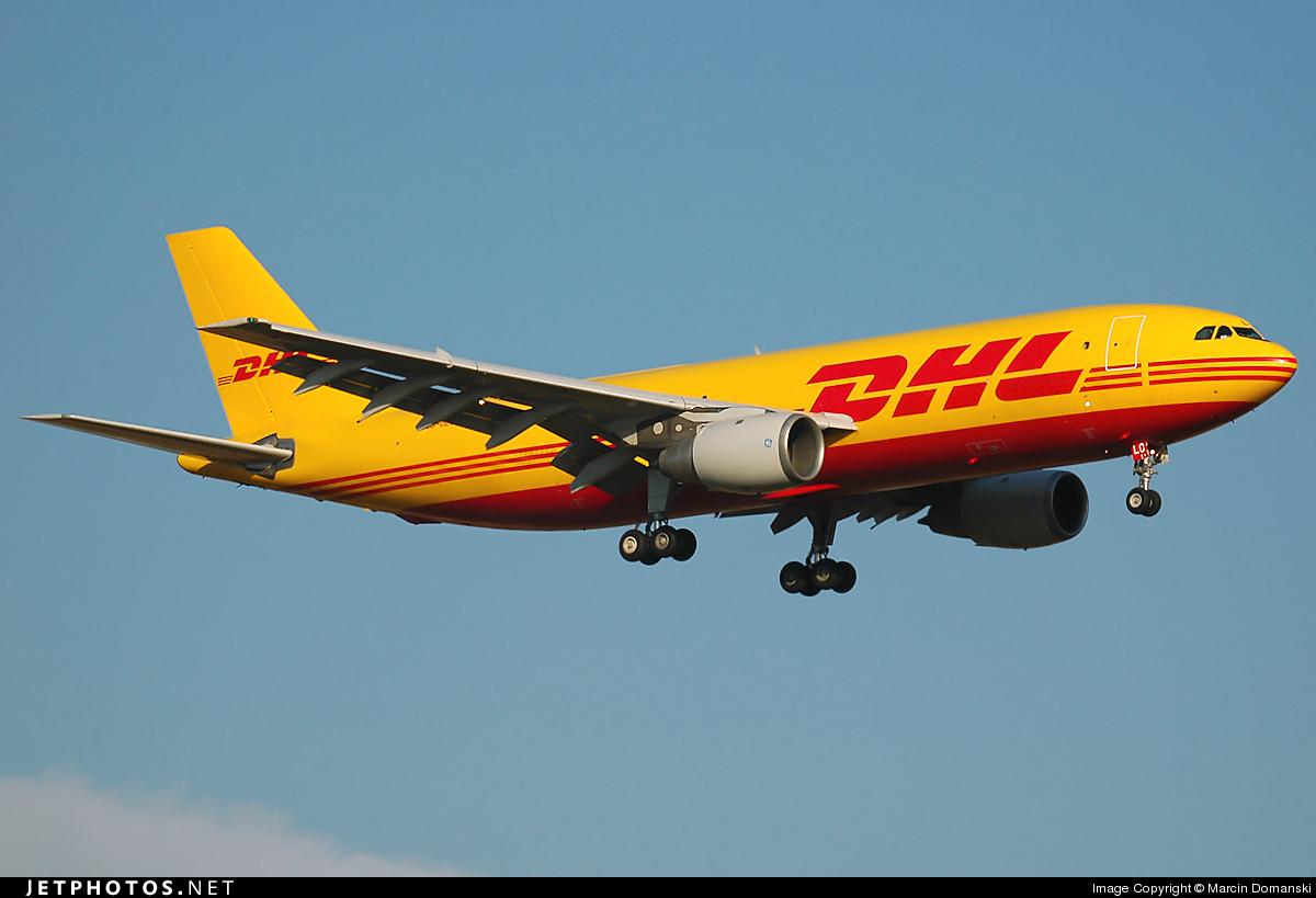 OO-DLC - Airbus A300B4-203(F) - DHL (European Air Transport)
