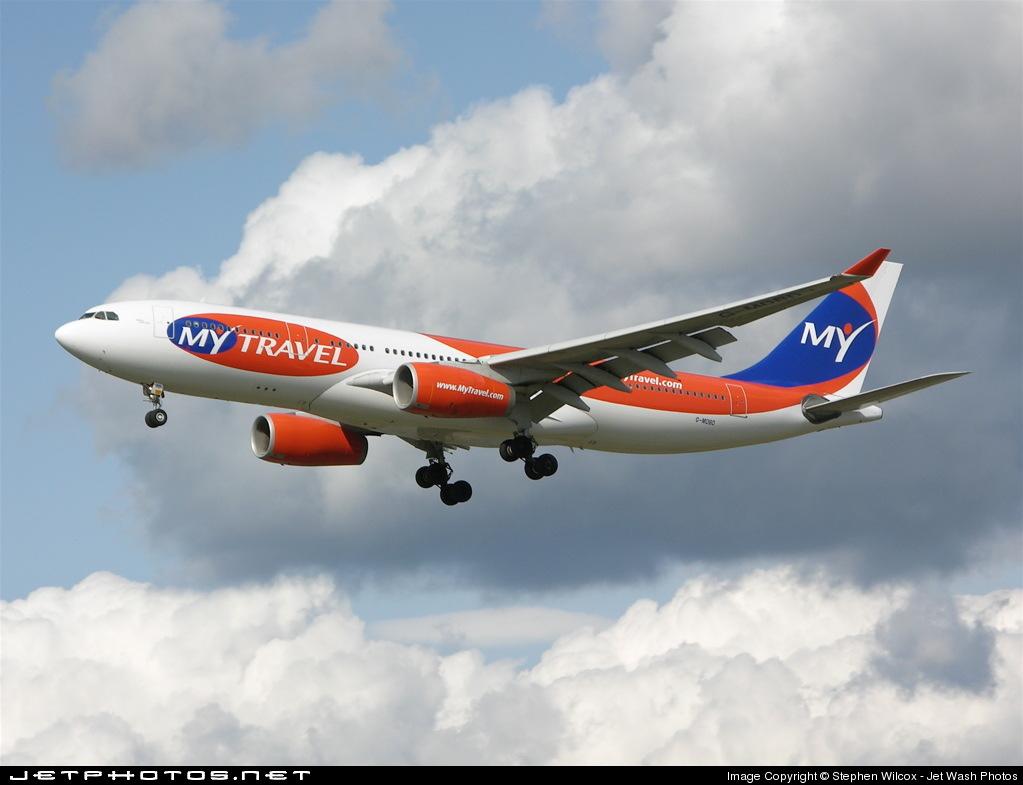 G-MDBD - Airbus A330-243 - MyTravel Airways