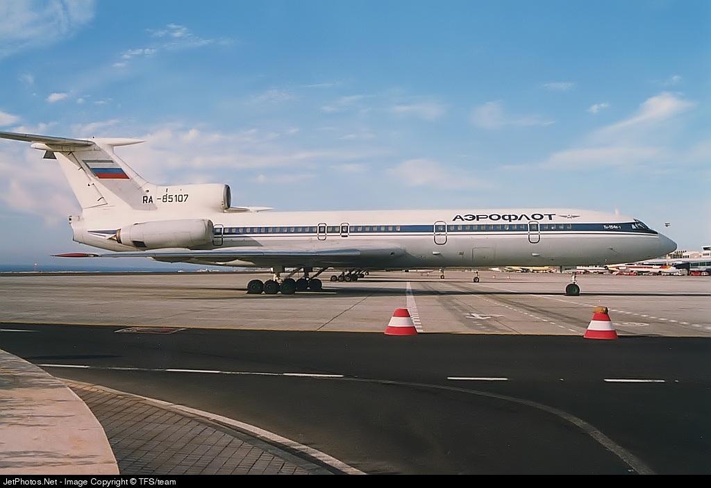 RA-85107 - Tupolev TU-154B - Aeroflot