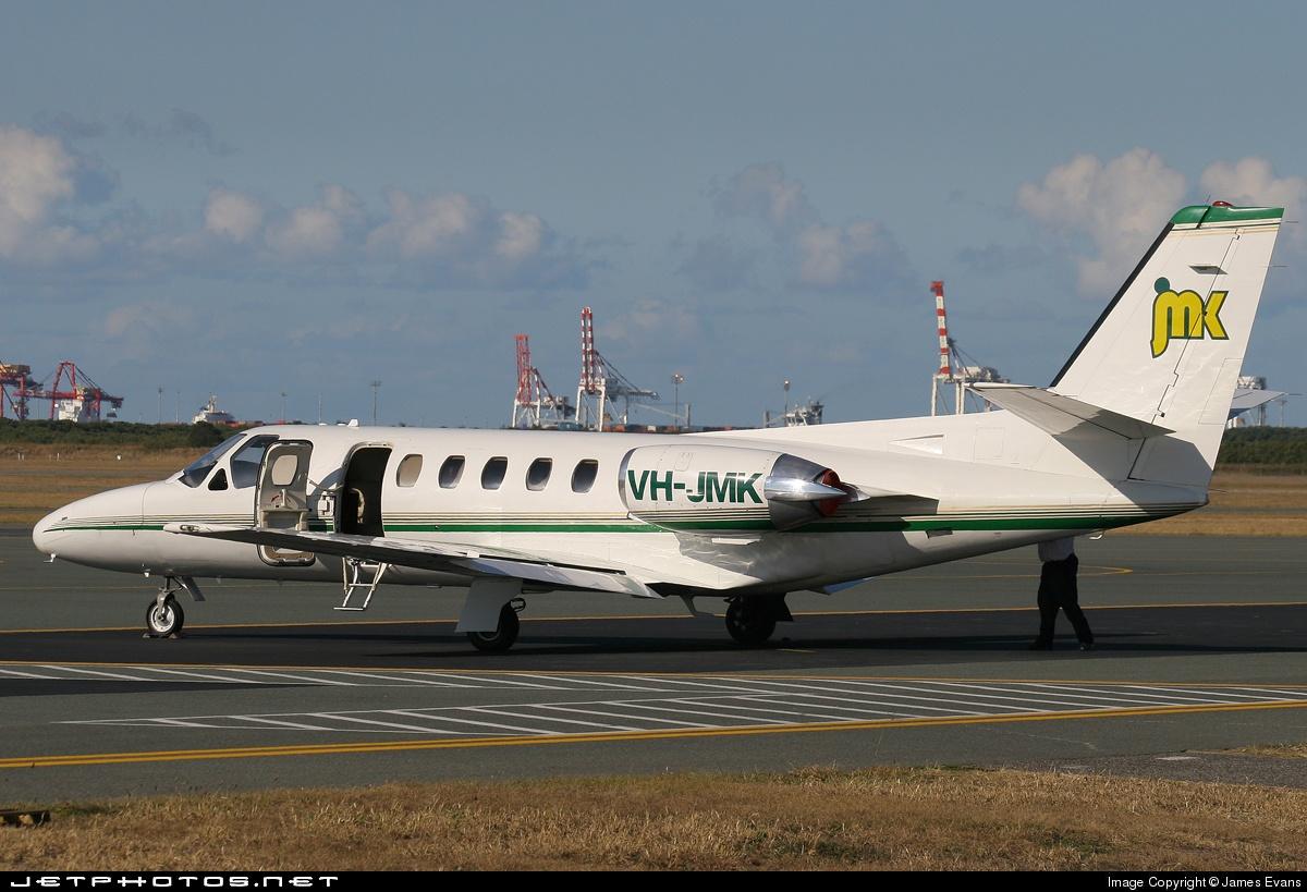 VH-JMK - Cessna 550 Citation II - Private