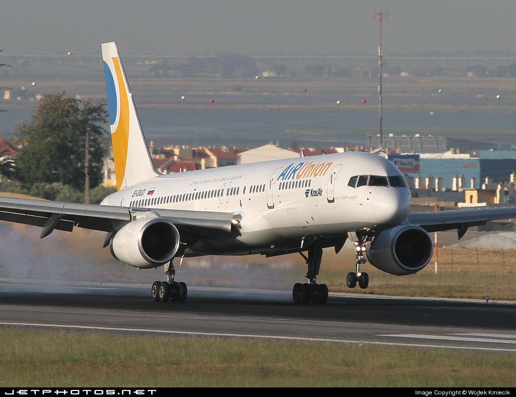 EI-DUD - Boeing 757-256 - Kras Air - Krasnoyarsk Airlines