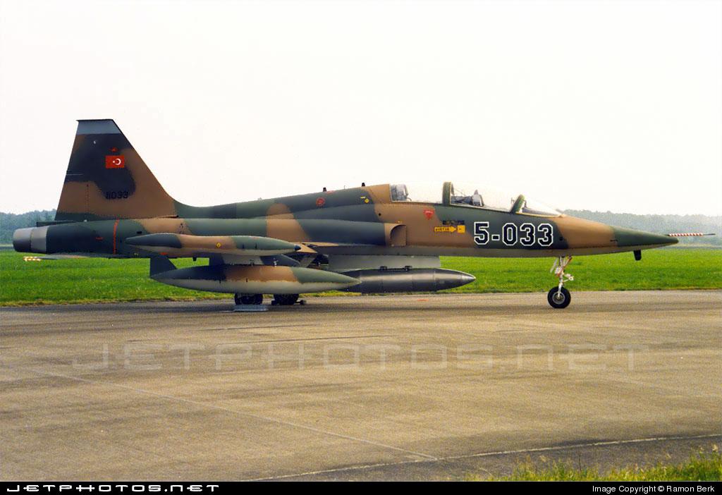 71-01033 - Northrop F-5B Freedom Fighter - Turkey - Air Force