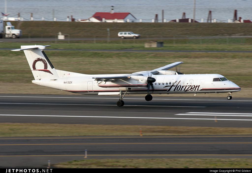N413QX - Bombardier Dash 8-Q402 - Horizon Air