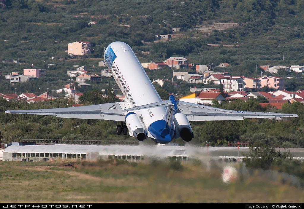 9A-CDE - McDonnell Douglas MD-82 - Dubrovnik Airline