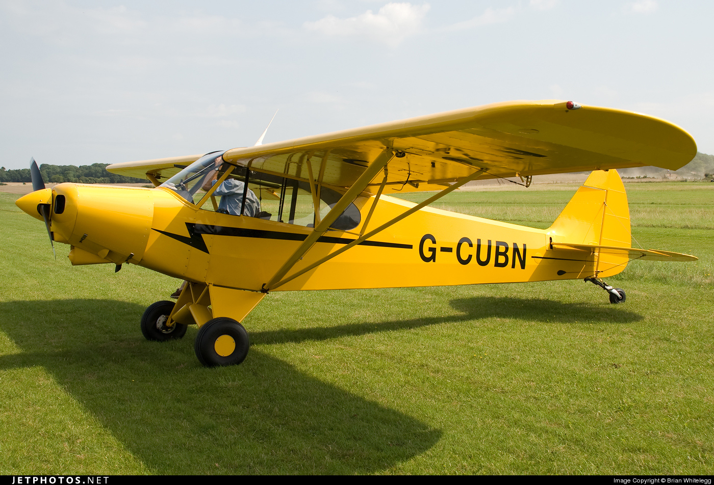 G-CUBN - Piper PA-18-150 Super Cub - Private