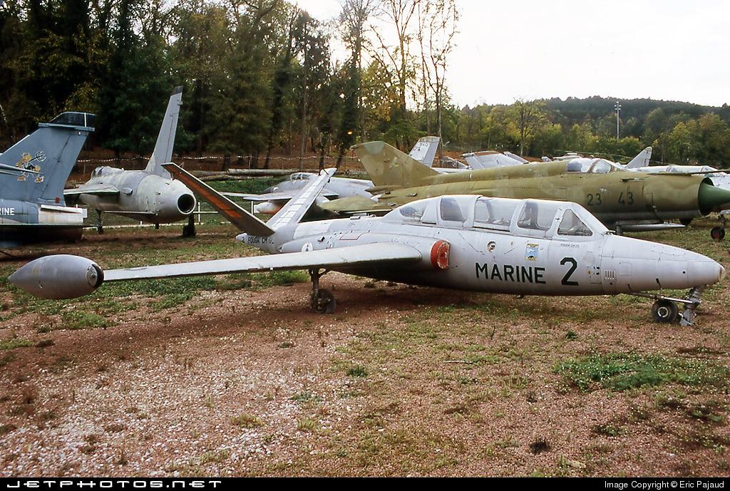 2 - Fouga CM-175 Zephyr - France - Navy