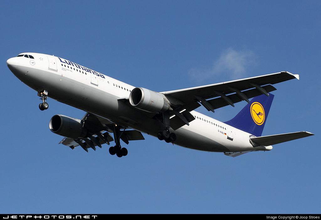 D-AIAU - Airbus A300B4-603 - Lufthansa