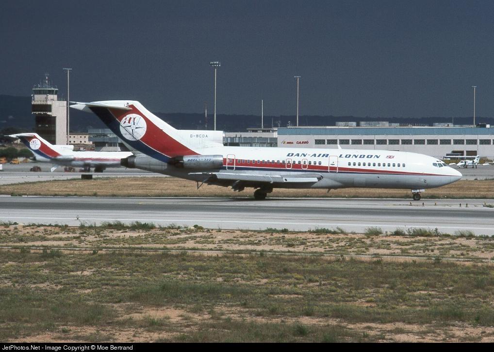 G-BCDA - Boeing 727-46 - Dan-Air London