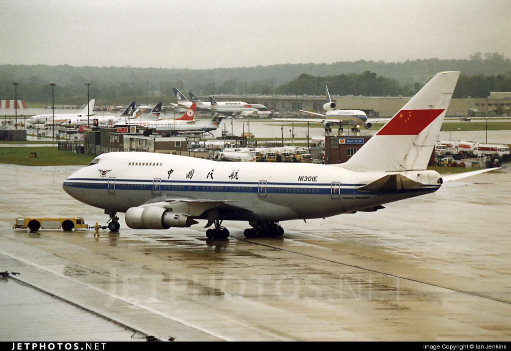 N1301E - Boeing 747SP-27 - Civil Aviation Administration of China (CAAC)