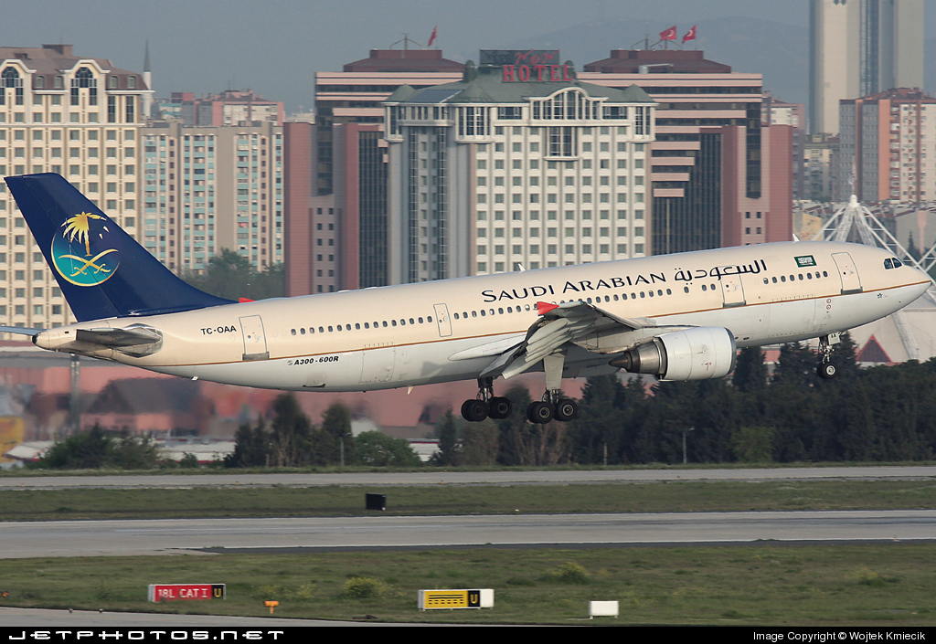 TC-OAA - Airbus A300B4-605R - Saudi Arabian Airlines (Onur Air)