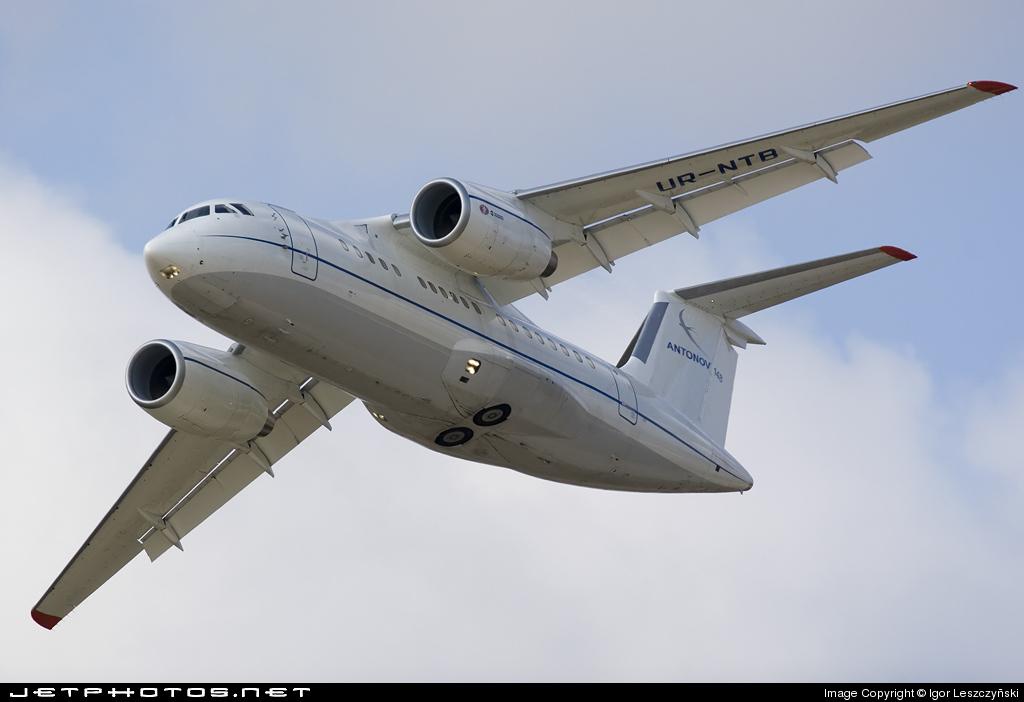 UR-NTB - Antonov An-148 - Antonov Airlines