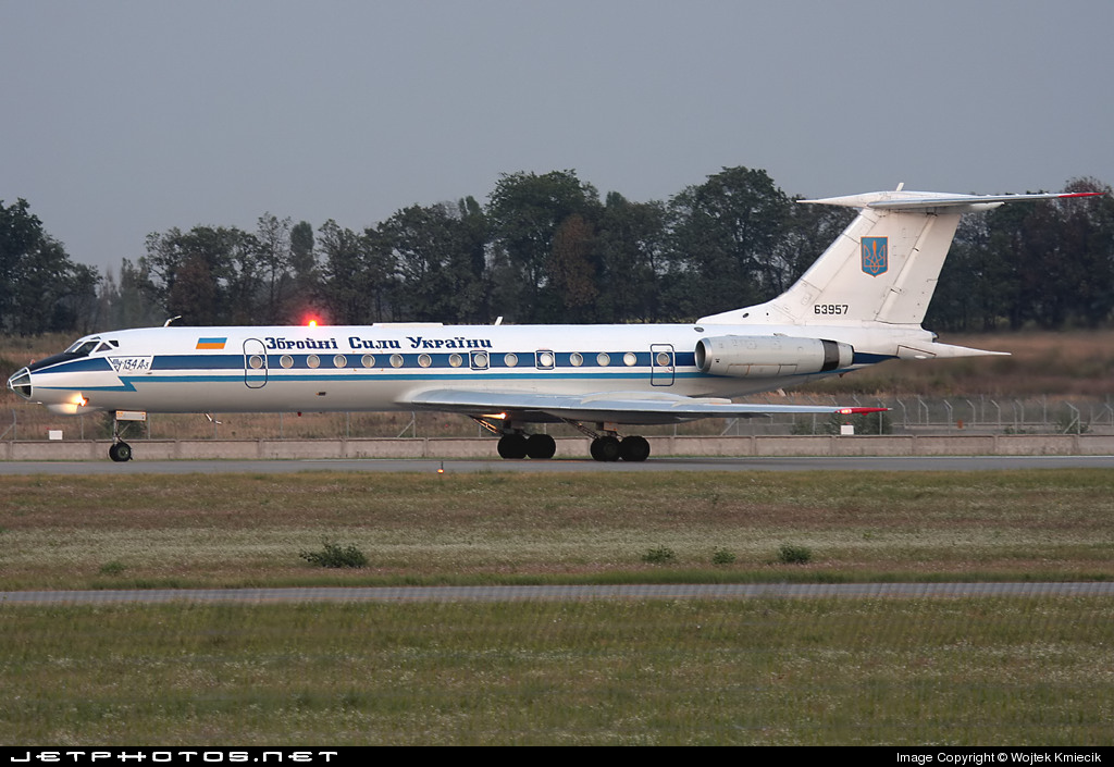 UR-63957 - Tupolev Tu-134A-3 - Ukraine - Air Force