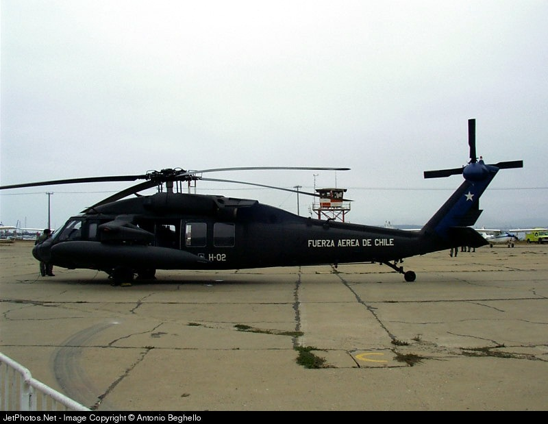 H-02 - Sikorsky S-70A-39 Blackhawk - Chile - Air Force
