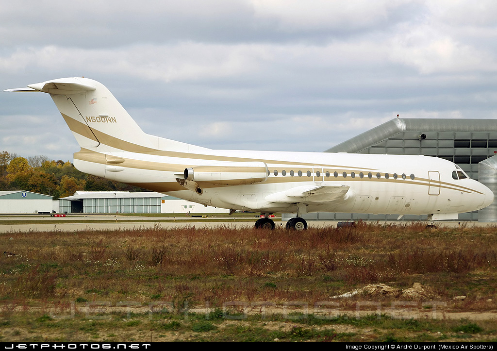 N500WN - Fokker F28-1000 Fellowship - Private