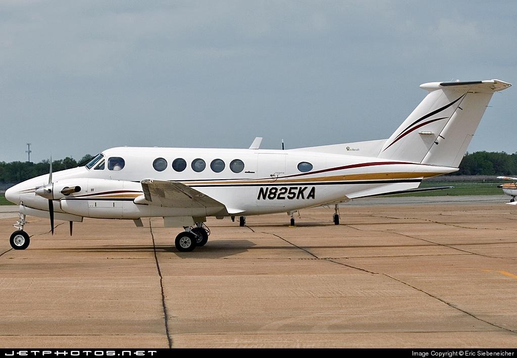 N825KA - Beechcraft 200 Super King Air - Private