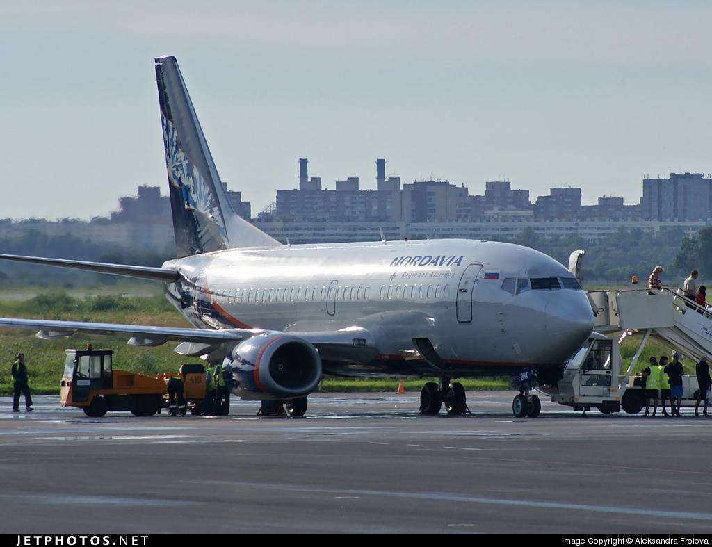 VP-BRK - Boeing 737-5Y0 - Aeroflot-Nord