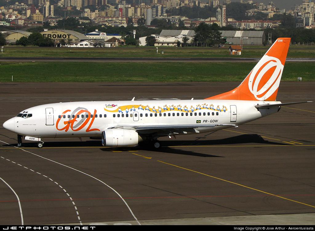PR-GOW - Boeing 737-76N - GOL Linhas Aéreas