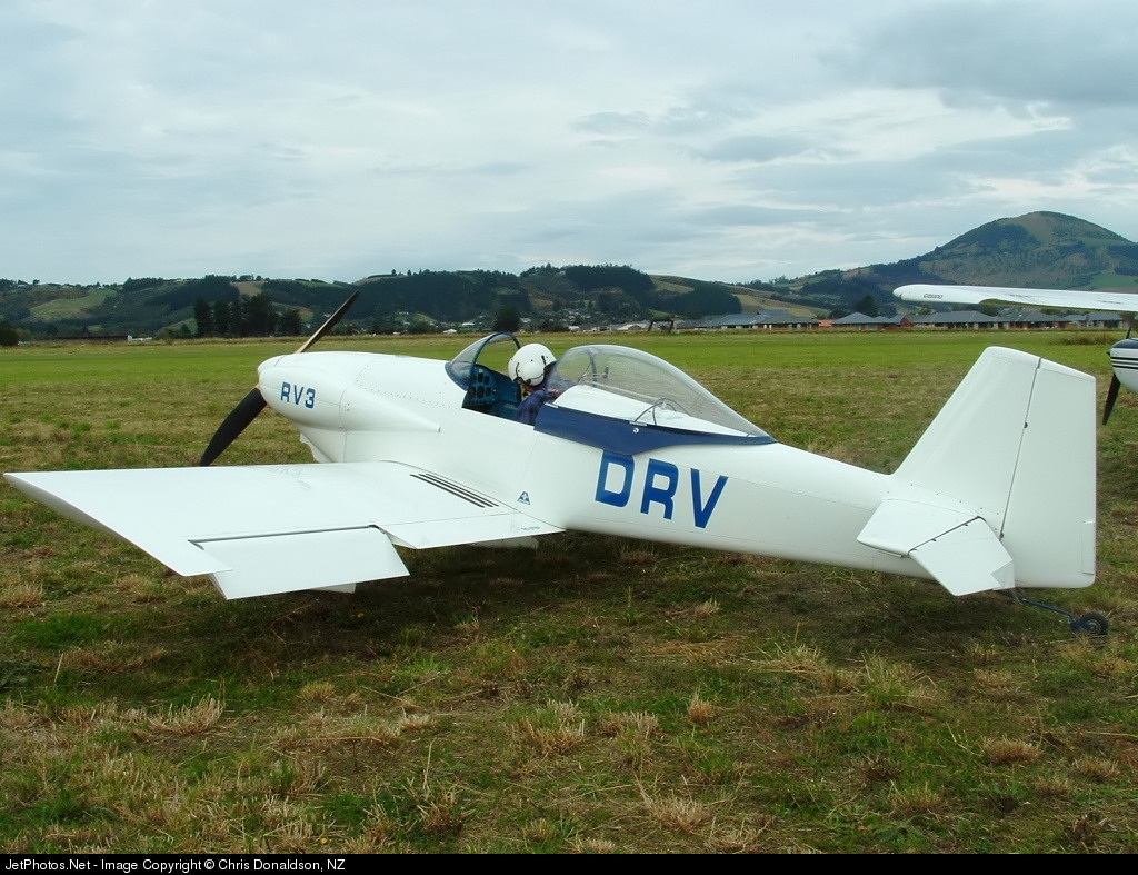 ZK-DRV - Vans RV-3 - Private
