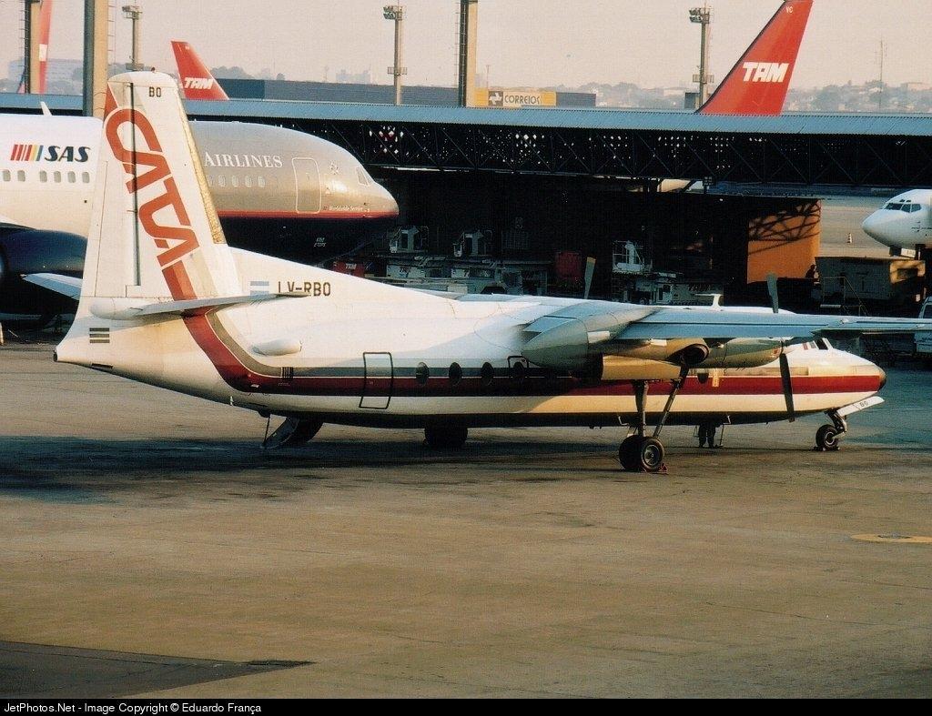 LV-RBO - Fairchild F-27J - CATA