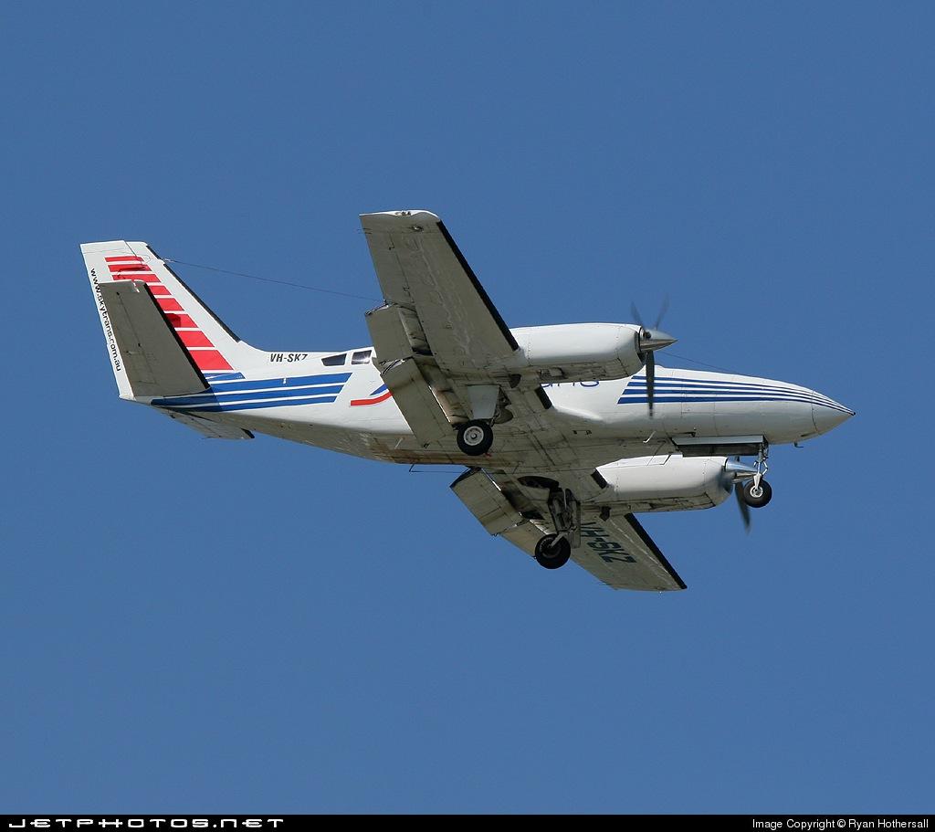 VH-SKZ - Cessna 404 Titan - Skytrans