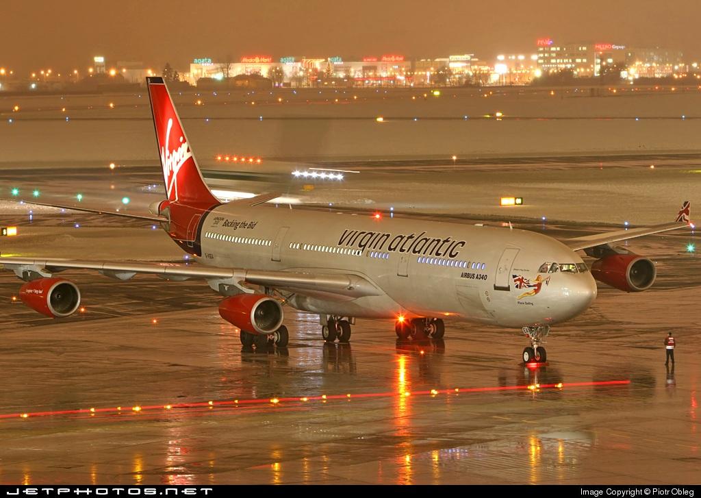 G-VSEA - Airbus A340-311 - Virgin Atlantic Airways
