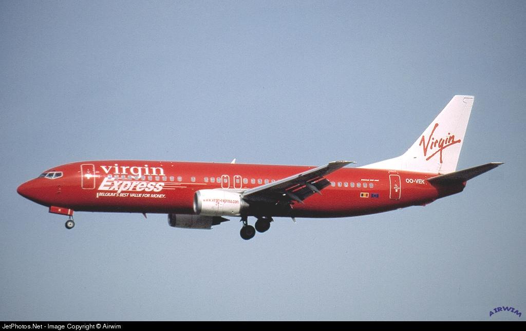 OO-VEK - Boeing 737-405 - Virgin Express