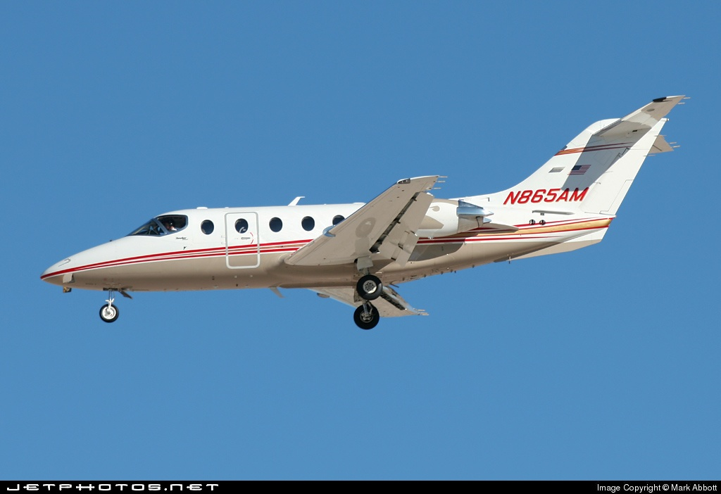 N865AM - Beechcraft 400A Beechjet - Private