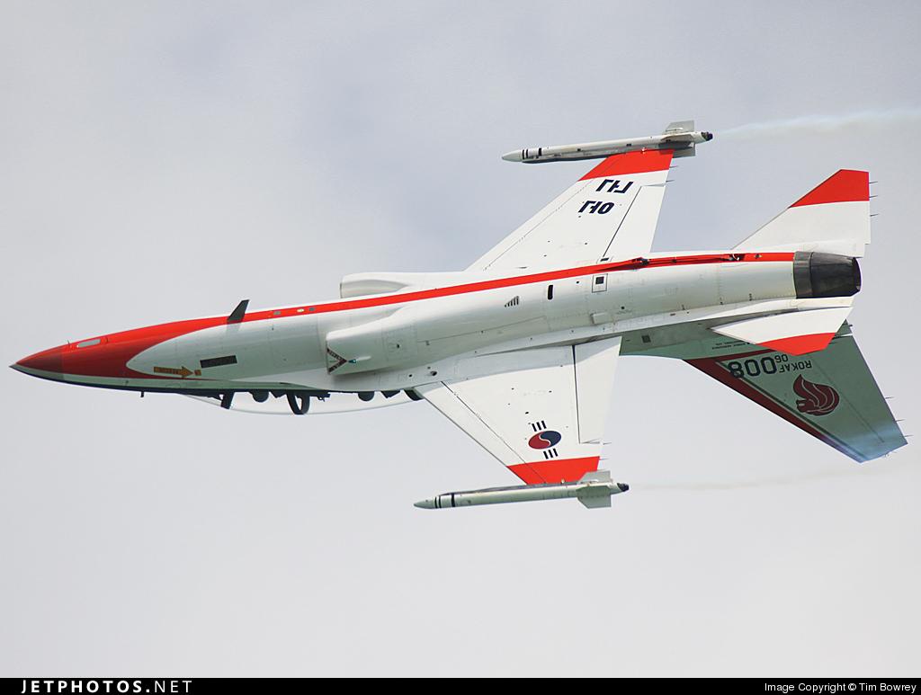 06-008 | KAI T-50 Golden Eagle | South Korea - Air Force | Tim