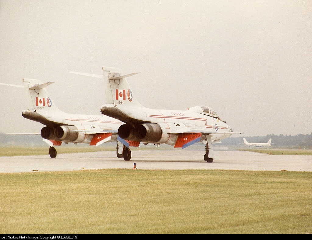 101014 - McDonnell CF101B Voodoo - Canada - Royal Canadian Air Force (RCAF)