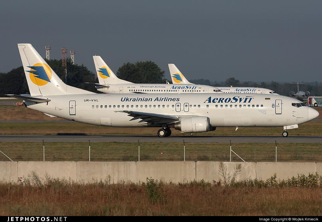 UR-VVL - Boeing 737-448 - AeroSvit Ukrainian Airlines