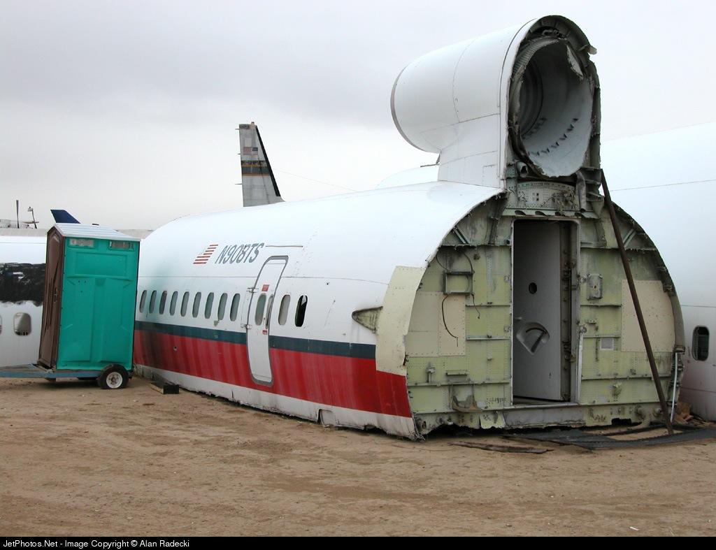 N908TS - Boeing 727-214 - US Airways Shuttle