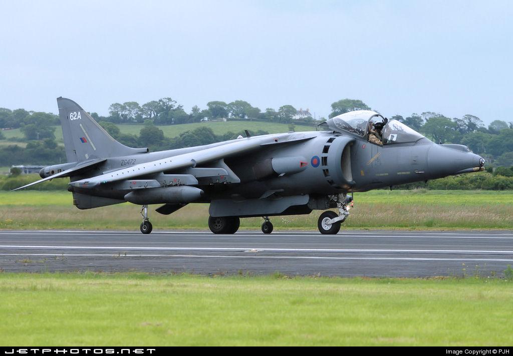 ZG472 - British Aerospace Harrier GR.7A - United Kingdom - Royal Air Force (RAF)