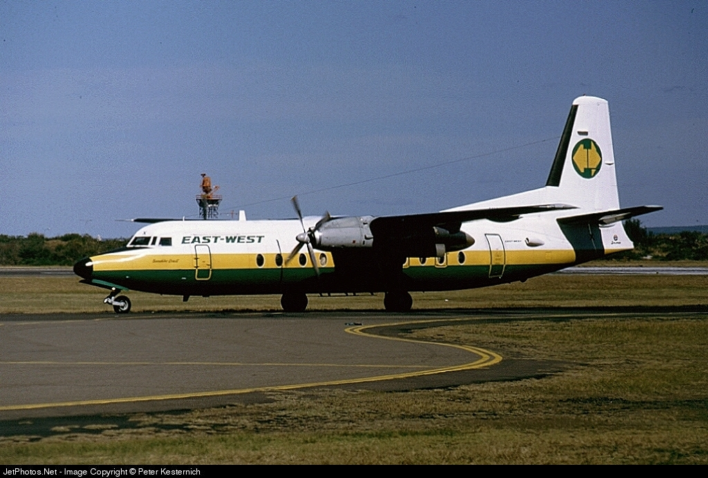 VH-EWX - Fokker F27-500 Friendship - East-West Airlines
