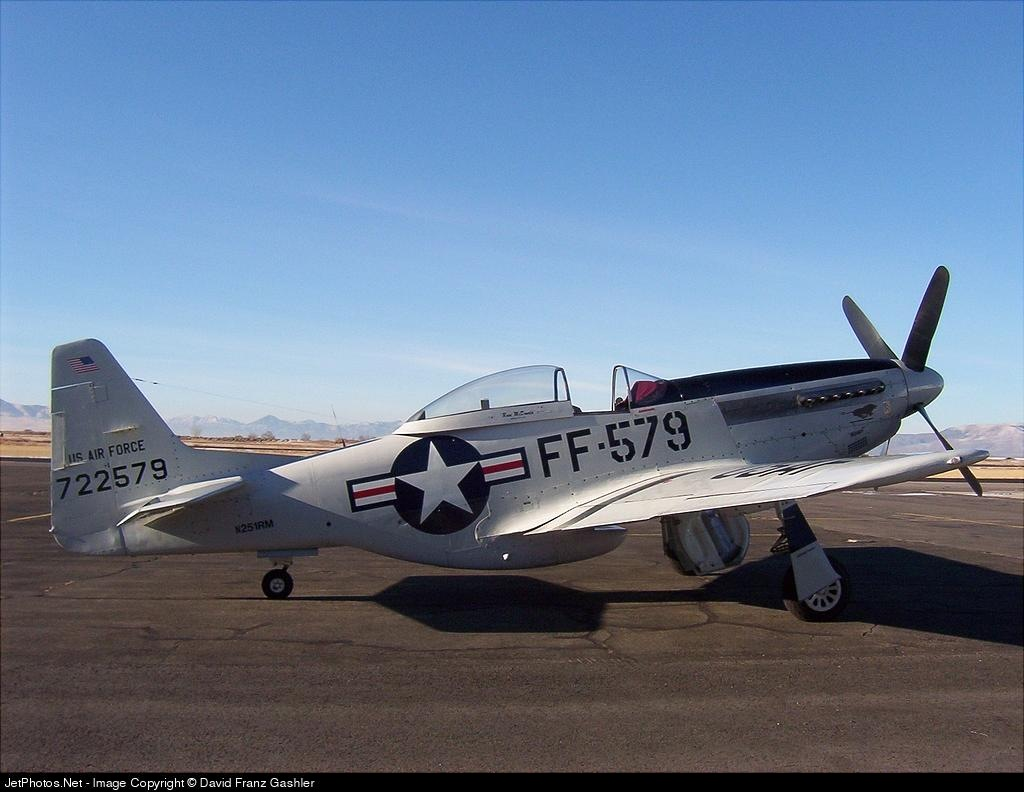N251RM - Cavalier TF-51D Mustang 2 - Private