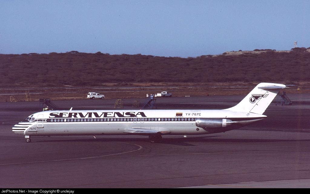 YV-767C - McDonnell Douglas DC-9-51 - Servivensa